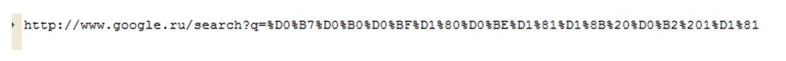 Параметры текста заголовка при перенаправлении HTTP